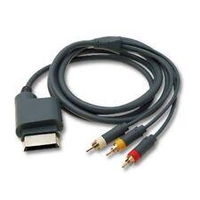 ds Cable Adaptador Compuesto Av Rca Audio Vídeo Para Xbox 360 mar