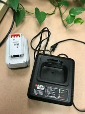 Black & Decker LCS36 Charger and LBXR36 36 Volt Lithium Ion Battery WITH MARKING