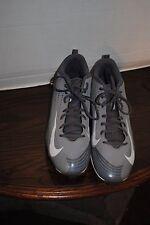 33.Nike Vapor Size 13 Men's Grey Baseball Cleats