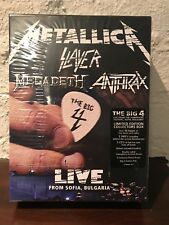 The Big 4 Live Sofia,Bulgaria 5 CD/2 DVD Boxset Metallica Slayer Megadeth Anthrx