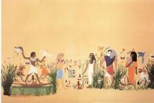 Melody Jane Puppenhaus Miniatur Druck Egyptienne Egyption Ägyptische Tapete