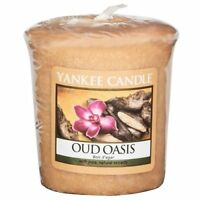 Yankee Candle Oud Oasis Votive Candle Brown Sampler Candle 45g NEW