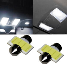 2x White 31mm COB LED Car SUV Interior Dome Map Reading Light Bulbs Accessories