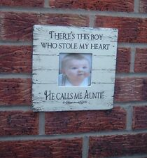 shabby vintage chic auntie so theres this boy picture photo frame christmas gift