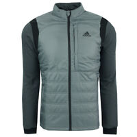 adidas Men's Climaheat Frostguard Primaloft Jacket Grey Three XL