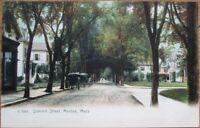 Malden, MA 1905 Rotograph Postcard: Summit Street - Massachusetts Mass