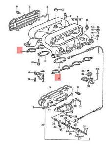Genuine PORSCHE 928 Porsche Seal 92811058002