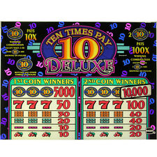 IGT Top Glass Ten Times Pay Deluxe (843-744-00)