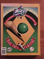 1998 World Series Official Program - New York Yankees vs. San Diego Padres