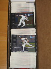 2000 Fleer Gamers Baseball  Complete 120 Card Set