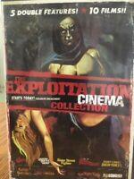 Exploitation Cinema Collection 5 disc DVD box set 10 films, Rare BCI, 1 Box