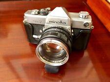 Vintage MINOLTA SR-7 35mm SLR Camera & 58mm Auto Rokkor PF Lens ~Excellent~