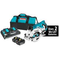 Makita XSR01PT 36-Volt 7-1/4-Inch X2 LXT Cordless Rear Handle Circular Saw Kit