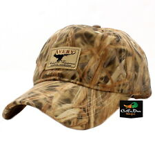 AVERY GREENHEAD GEAR GHG WATERFOWL EQUIPMENT LOGO OIL CAP HAT KW-1 CAMO