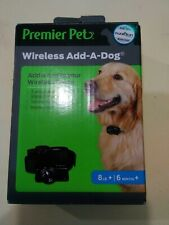 New listing Premier Pet Wireless Add-A-Dog Collar with Tone/Beep and Static - New!
