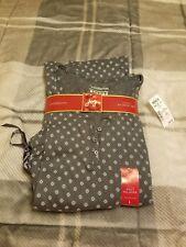Women's croft and barrow flannel pajams pants & long-sleeve shirt SZ L nwt $40