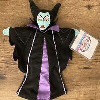The Disney Store Sleeping Beauty Maleficent Bean Bag Plush Villain Doll Toy