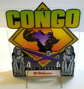 Williams Congo Pinball Machine Promo 3-D Plastic Stand Up Display Original 1995