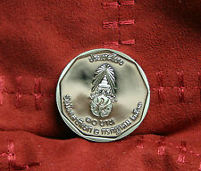 42nd Year Reign King Bhumibol Adulyadej 1988 Rama IX Thailand 10 Baht Proof Coin