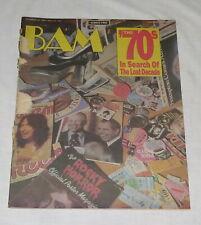 BAM The California Music Magazine 28 Nov 1986 245 The 70's Search Of Lost Decade