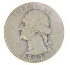 Key Date 1932D US Mint Washington 25 Cent Quarter Coin