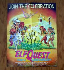 ELFQUEST 10th Anniversary Join the Celebration Promotional Poster 1996 Promo