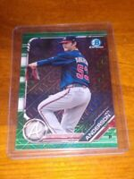 IAN ANDERSON #/99 2019 BOWMAN CHROME PROSPECTS GREEN SHIMMER REFRACTOR RC