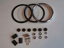 Smiths, Bezel Glass, Repair Kit, Magnetic, Speedo, Tach, Norton, Triumph, BSA
