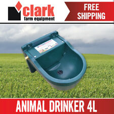 4L Animal Automatic drinker WATER TROUGH bowl Sheep Horse Dog Cow AU Stock