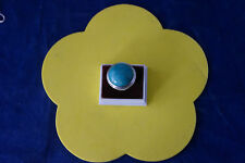 Beautiful 925 Silver Ring With Turquoise Gemstone 18.7 Gr.2.5 Cm.Wide In Box