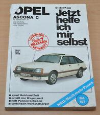 Opel Ascona C NEK E 1,6N 1,3N  ab 1981 Benzin Kat Reparaturanleitung JHIMS 107