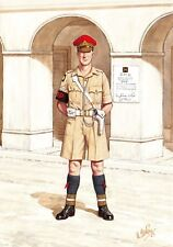 Postcard Corps of Royal Military Police, Corporal Cairo Egypt 1942 #20-3