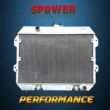 3-Row/CORE Aluminum Radiator For Nissan Datsun 280Z 280ZX 2+2 GL Turbo L6 75-83