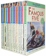 Enid Blyton Famous Five Series 10 Books Set- Books 1 to 10