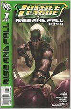 Justice League #1 : Rise and Fall : DC Comic book : May 2010