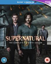 Supernatural - Season 9 [2015] [Region Free] (Blu-ray)
