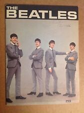 Vintage 1964 Beatles Photo & info book PYX & Highlight Corp. mail away Fine