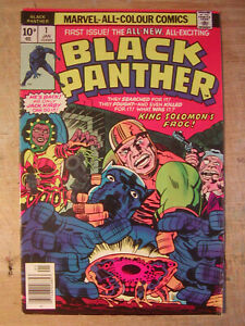 Marvel Comics - Black Panther No. 1 (Jan 1977) Very Good condition