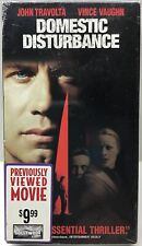 Domestic Disturbance John Travolta VHS Tape 33723