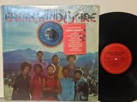 Earth Wind & Fire Open Our Eyes VG+ in SHRINK +HYPE STICKER Afro funk pharaohs