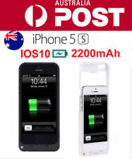 2200mAh Portable External Backup Battery Charger Case For Apple IPhone5 5S SE