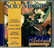 Solo Mujeres Antologia  Un Siglo de Musica   BRAND  NEW SEALED  CD