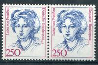 Bund Nr. 1428 postfrisch waagerechtes Paar BRD Frauen 250 Pfennig ungefaltet MNH