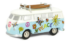 450533600 Schuco 1:90 Piccolo VW T1 Bus Surfer Bus