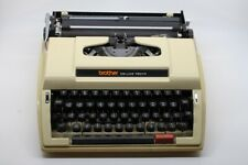 Arabic typewriter Brother DELUXE 750 TR made in Japan. اله كاتبه عربي