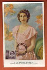 1948 -Maitland - Carte Maximum - H.R.H Princesse Elizabeth  - Australie