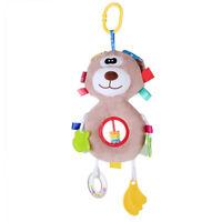 Newborn Baby Bed Stroller Rattle Soft Plush Hanging Toy Infant Kids Crib Doll