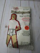 (2) Munsingwear Briefs, Medium 34 White, New, Vintage Kangaroo Pouch