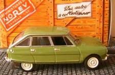 CITROEN AMI 8 BERLINE 1969 VERTE NOREV GREEN GRUN VERDE 1/43 BOITE HACHETTE