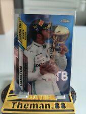 Topps chrome F1 Formula 1 Lewis Hamilton PSA BGS Clean Sharp
